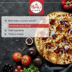 Elegant Search Bar Pizza Restaurant Instagram Post